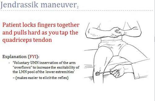 The Jendrassik Maneuver   JC Physiotherapy